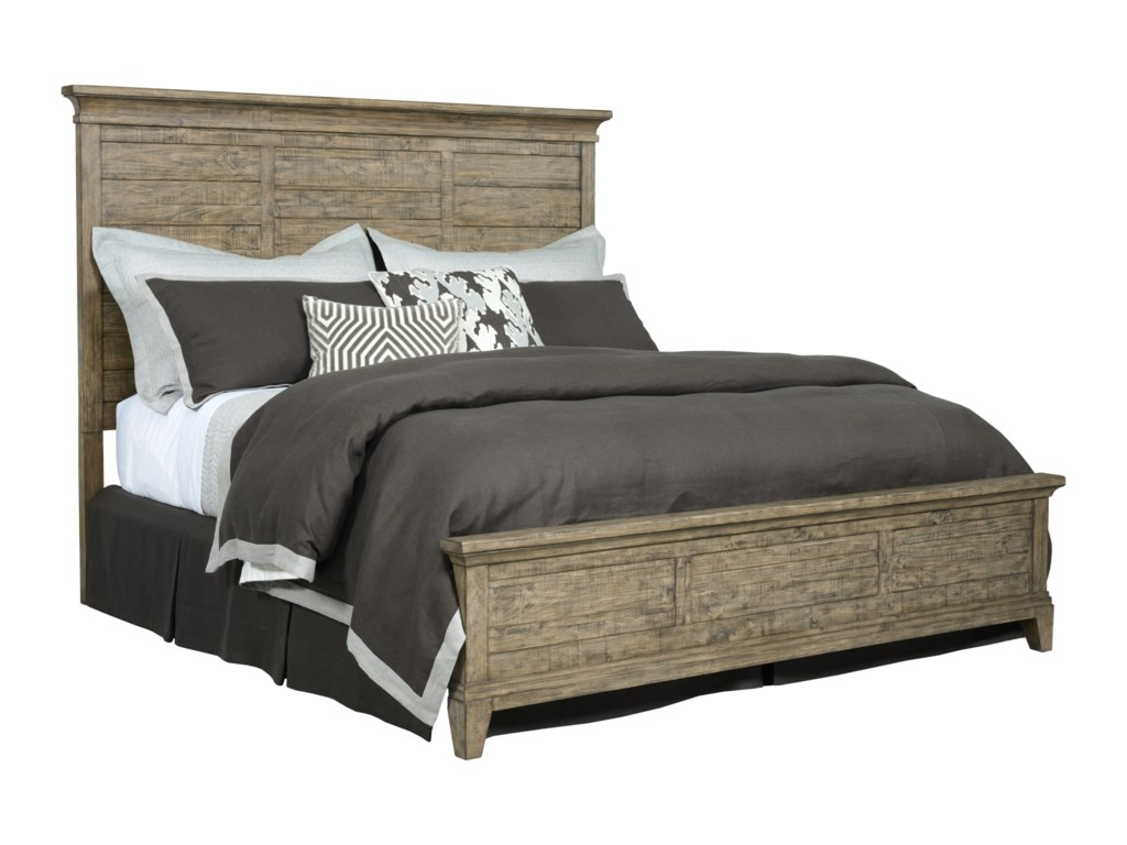 Kincaid Furniture Plank RoadJessup Panel California King Bed