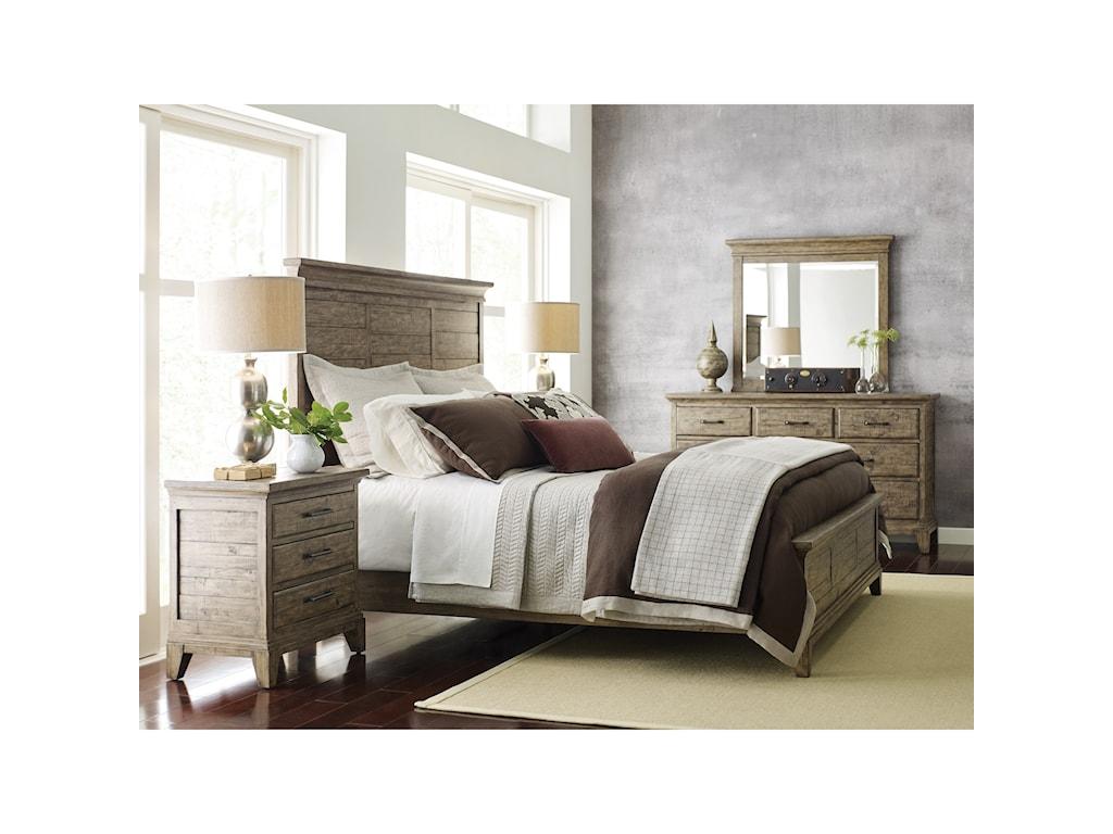 Kincaid Furniture Plank RoadJessup Panel California King Bed
