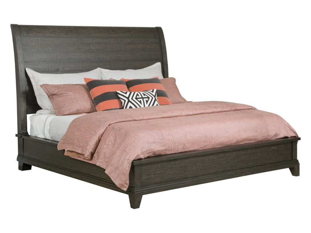 Kincaid Furniture Plank RoadEastburn Sleigh Queen Bed