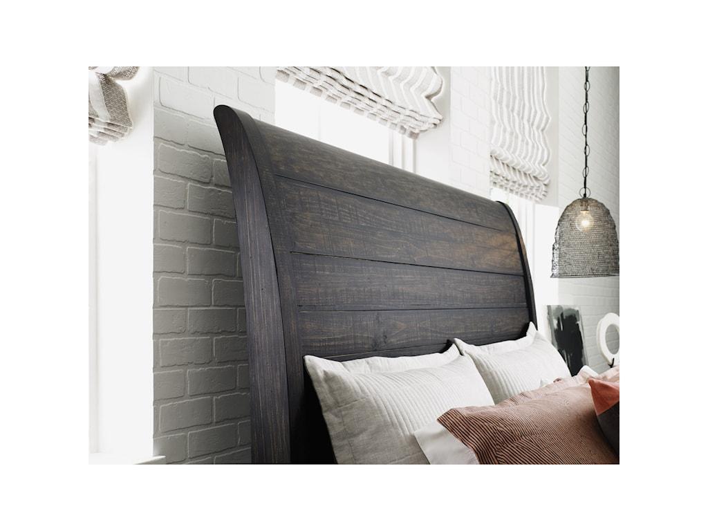 Kincaid Furniture Plank RoadEastburn Sleigh King Bed