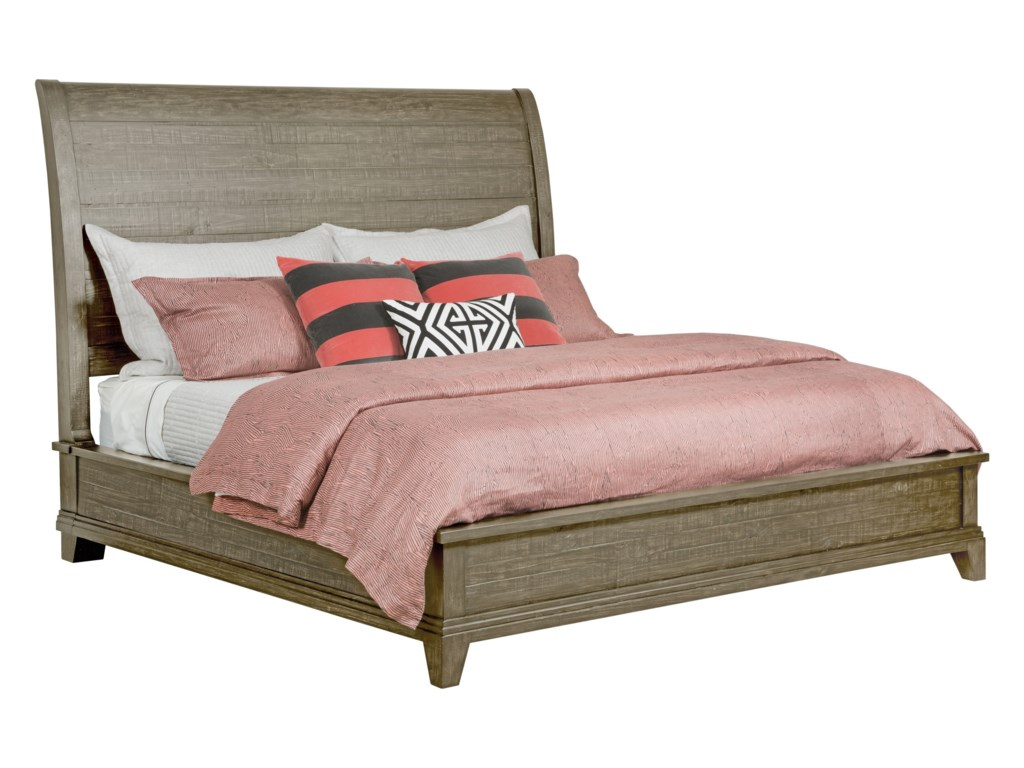Kincaid Furniture Plank RoadEastburn Sleigh King Bed