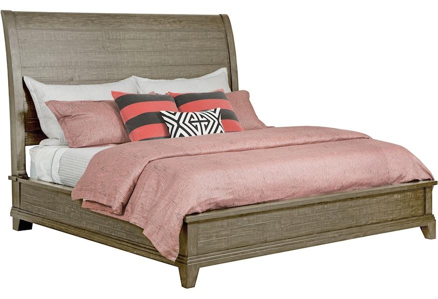 Kincaid Furniture Plank Road 706 317sp Eastburn Solid Wood California King Sleigh Bed Hudson S Furniture Sleigh Beds