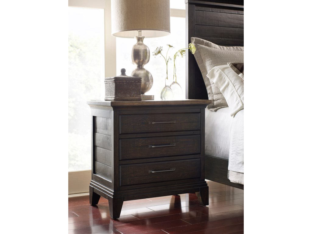 Kincaid Furniture Plank RoadBlair Nightstand