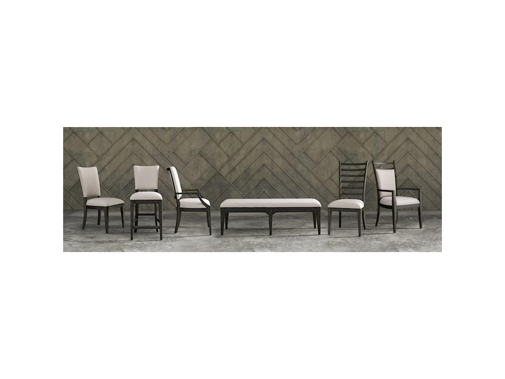 Kincaid Furniture Plank RoadHowell Side Chair