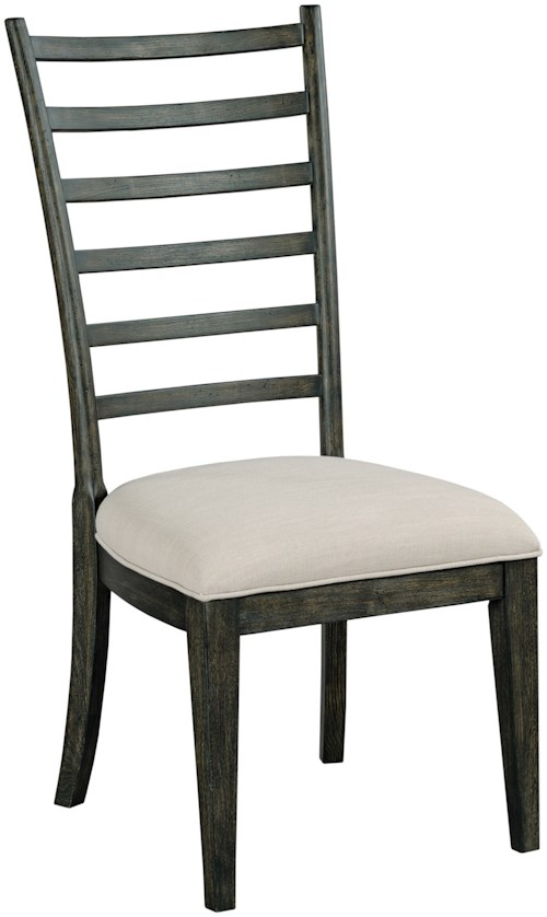 Kincaid Furniture Plank Road Oakley Ladderback Side Chair