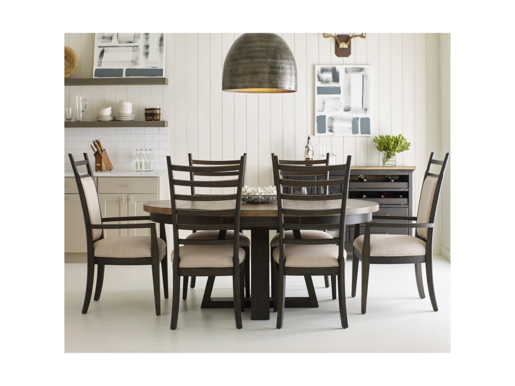 Kincaid Furniture Plank Road7 Pc Dining Set