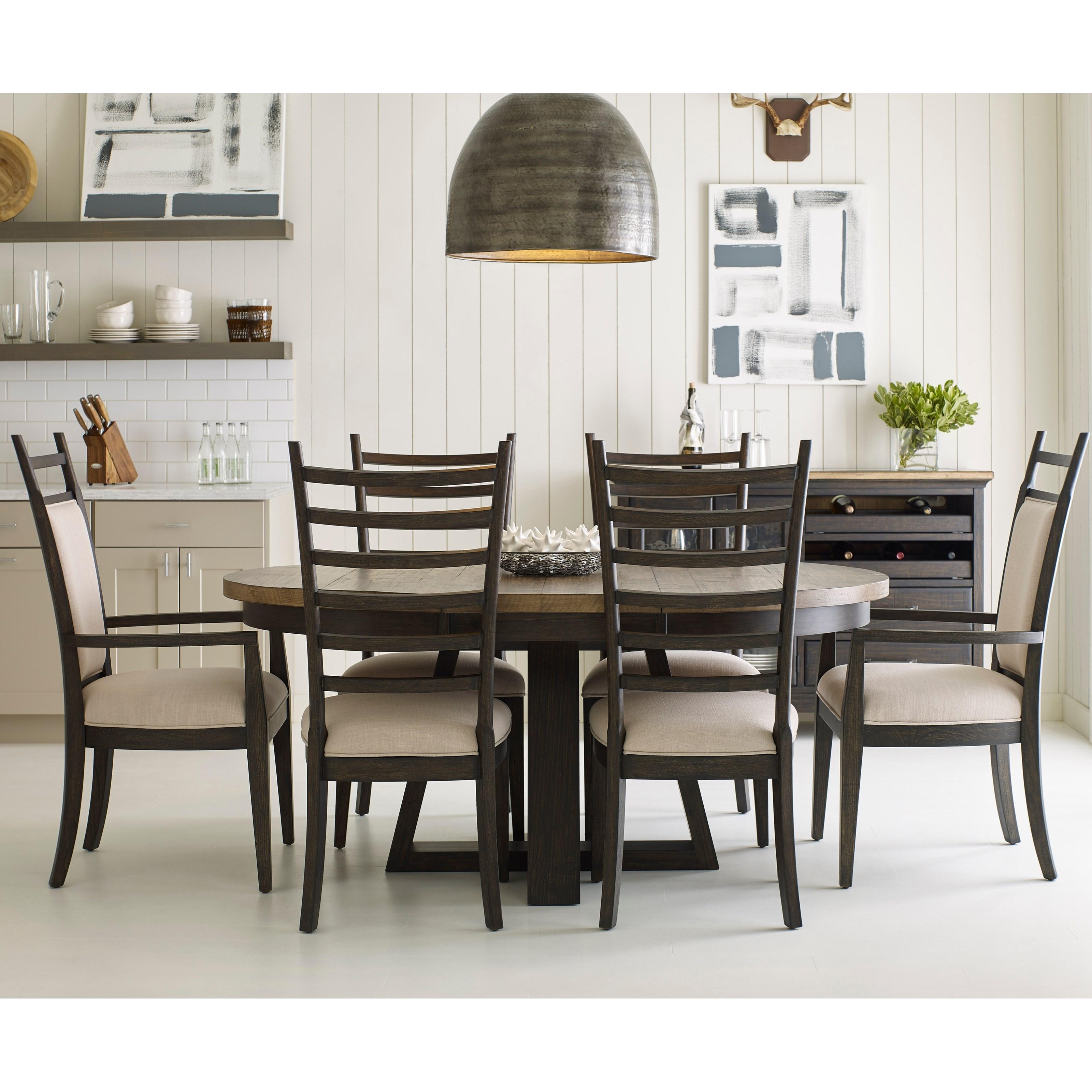 Kincaid Furniture Plank Road7 Pc Dining Set ...