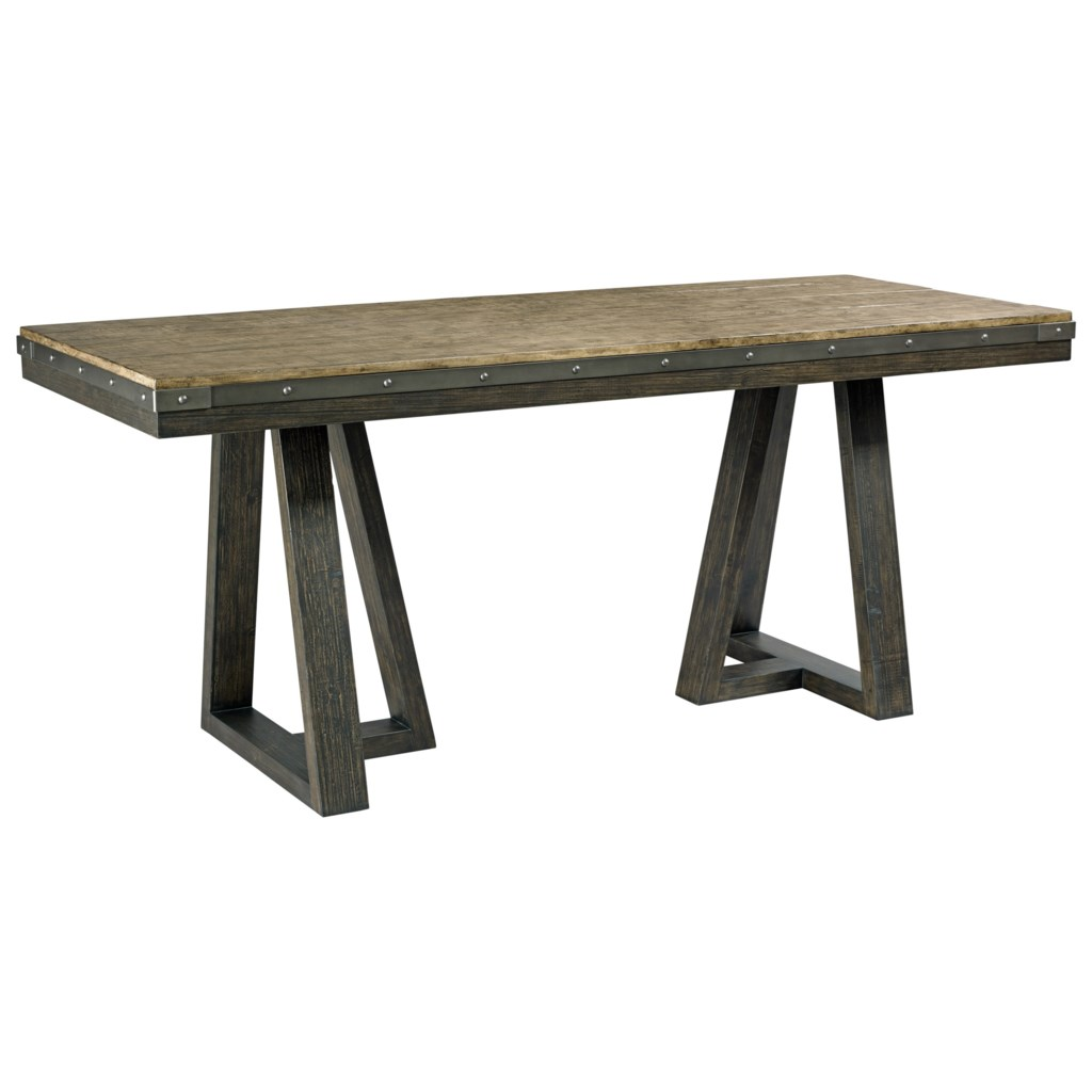 Kincaid Furniture Plank Road 706 706cp Kimler Solid Wood Counter