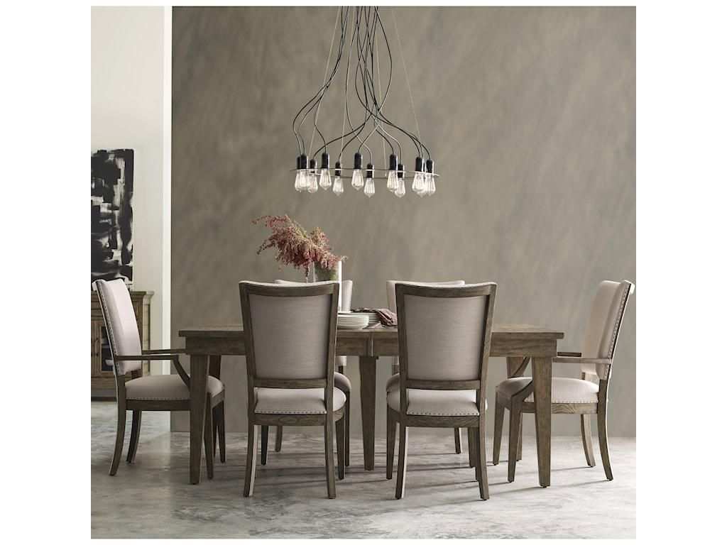 Kincaid Furniture Plank Road7 Pc Dining Set w/ Rankin Table