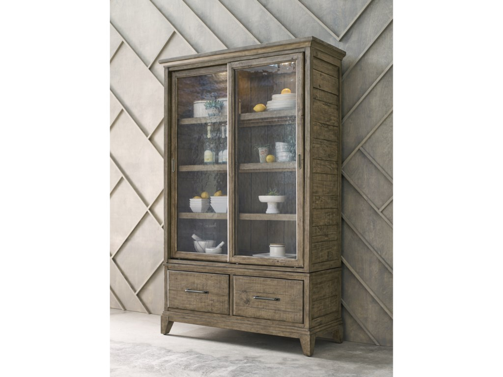 Kincaid Furniture Plank RoadDarby Display Cabinet