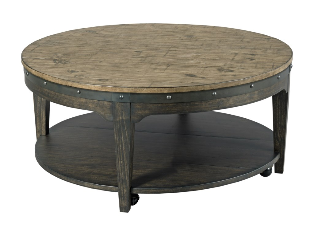 Kincaid Furniture Plank RoadArtisans Round Cocktail Table