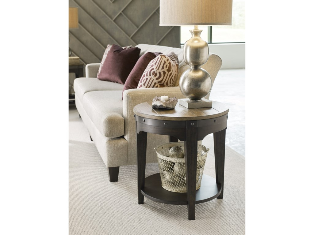 Kincaid Furniture Plank RoadArtisans Round End Table