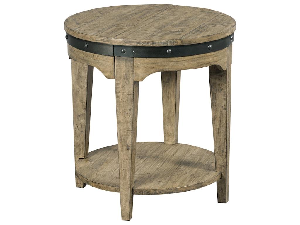 Kincaid Furniture Plank RoadArtisans Round End Table