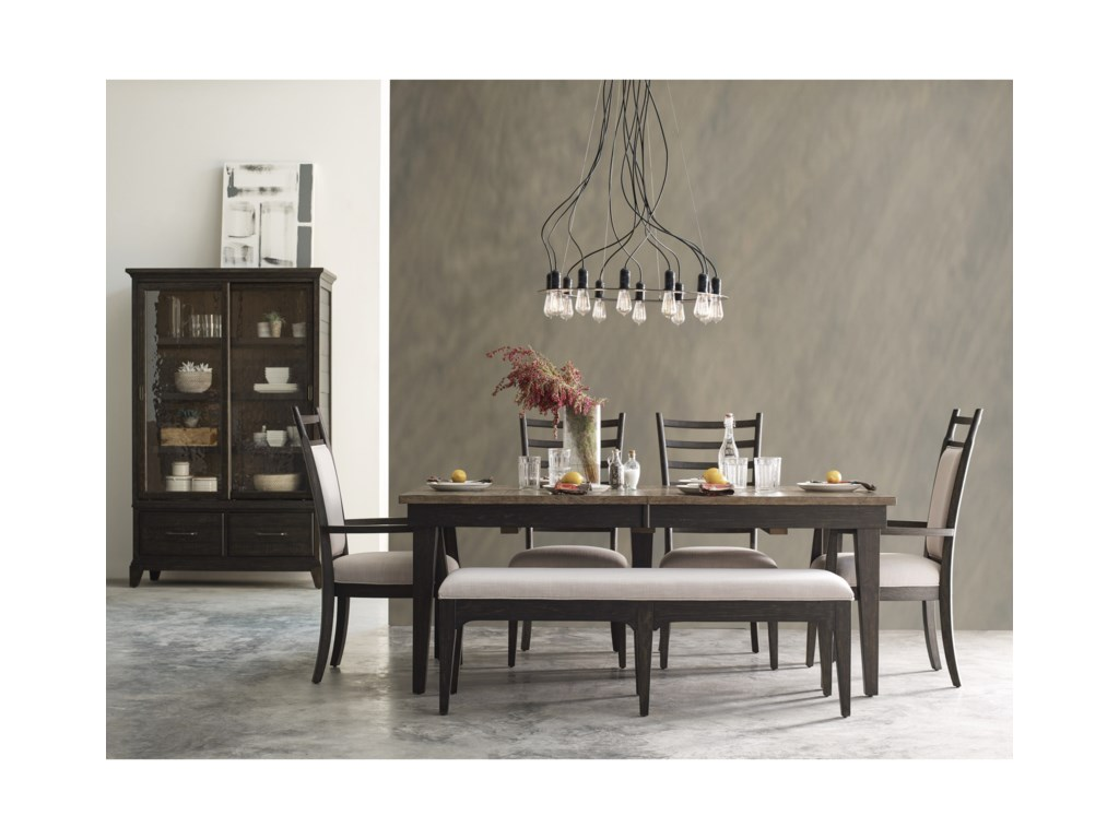 Kincaid Furniture Plank RoadFormal Dining Room Group