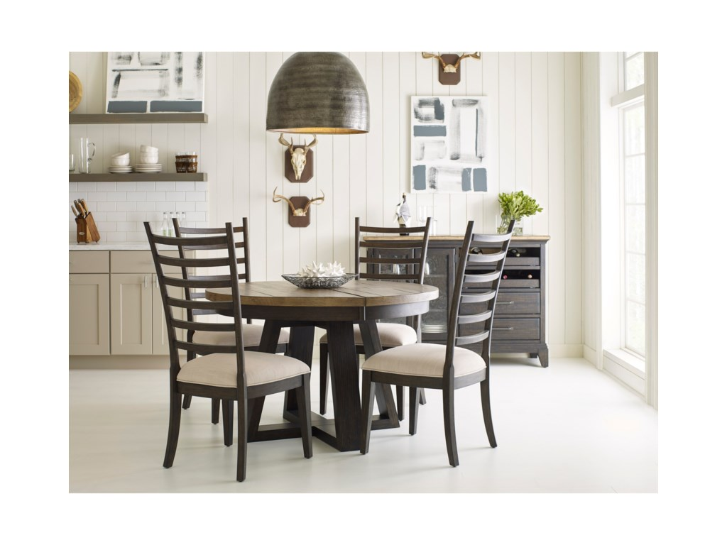Kincaid Furniture Plank RoadCasual Dining Room Group