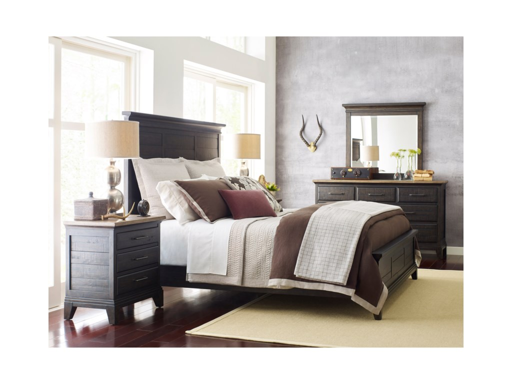 Kincaid Furniture Plank RoadQueen Bedroom Group