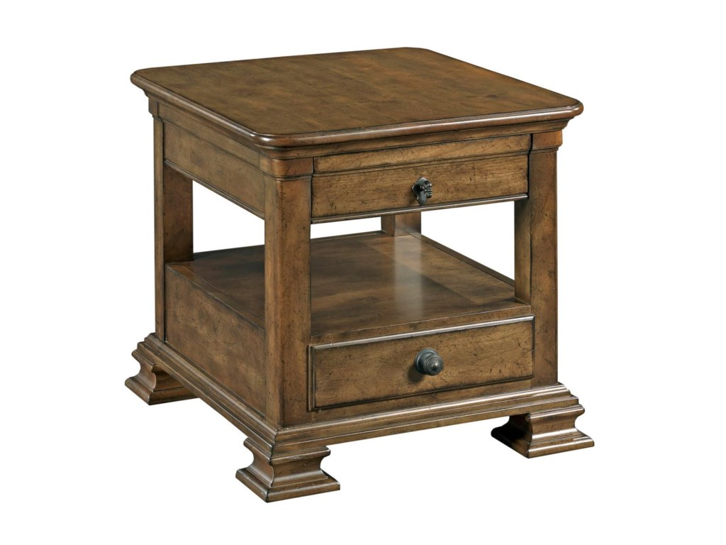 Kincaid Furniture PortoloneRectangular End Table