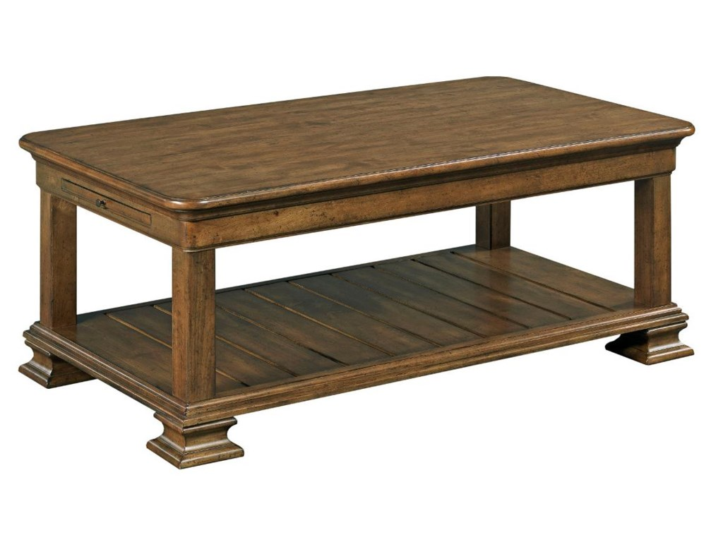 Kincaid Furniture PortoloneRectangular Cocktail Table