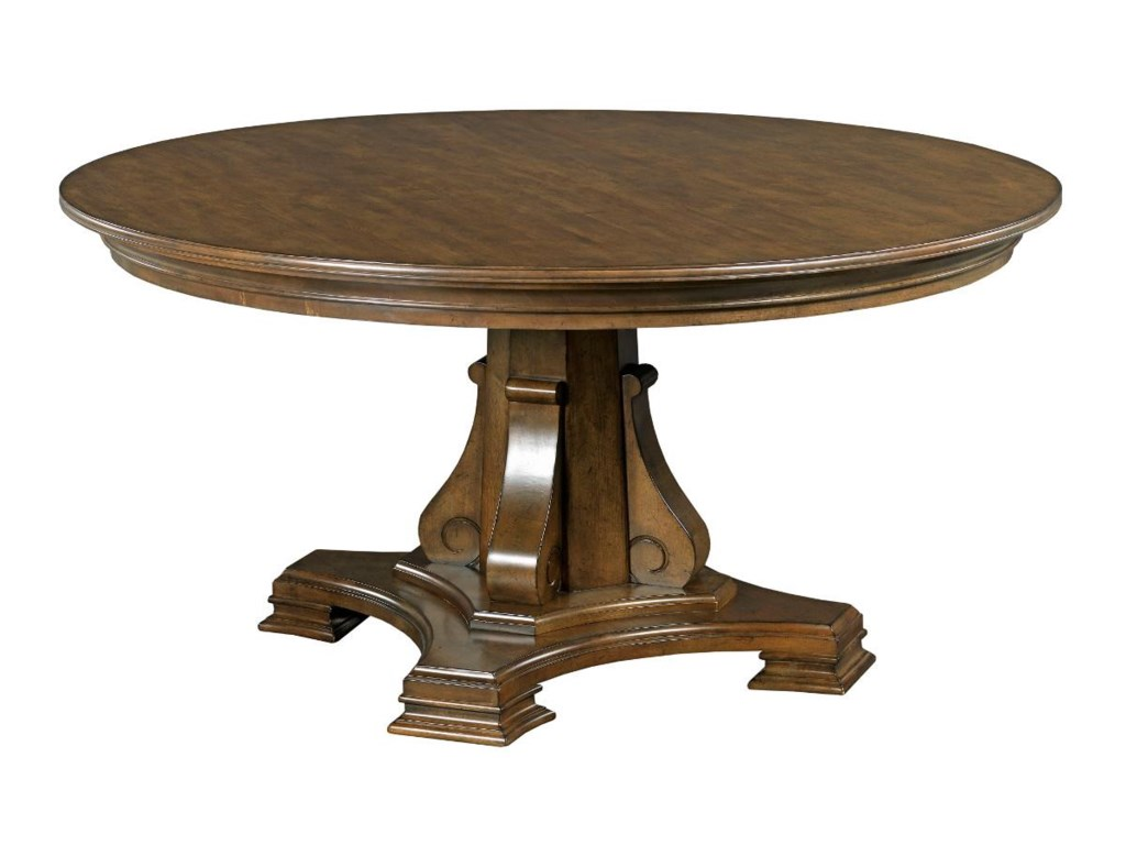 Kincaid Furniture Portolone Stellia 60 Round Solid Wood Dining