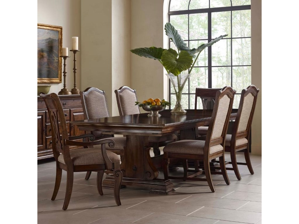 Kincaid Furniture Portolone7 Pc Dining Set