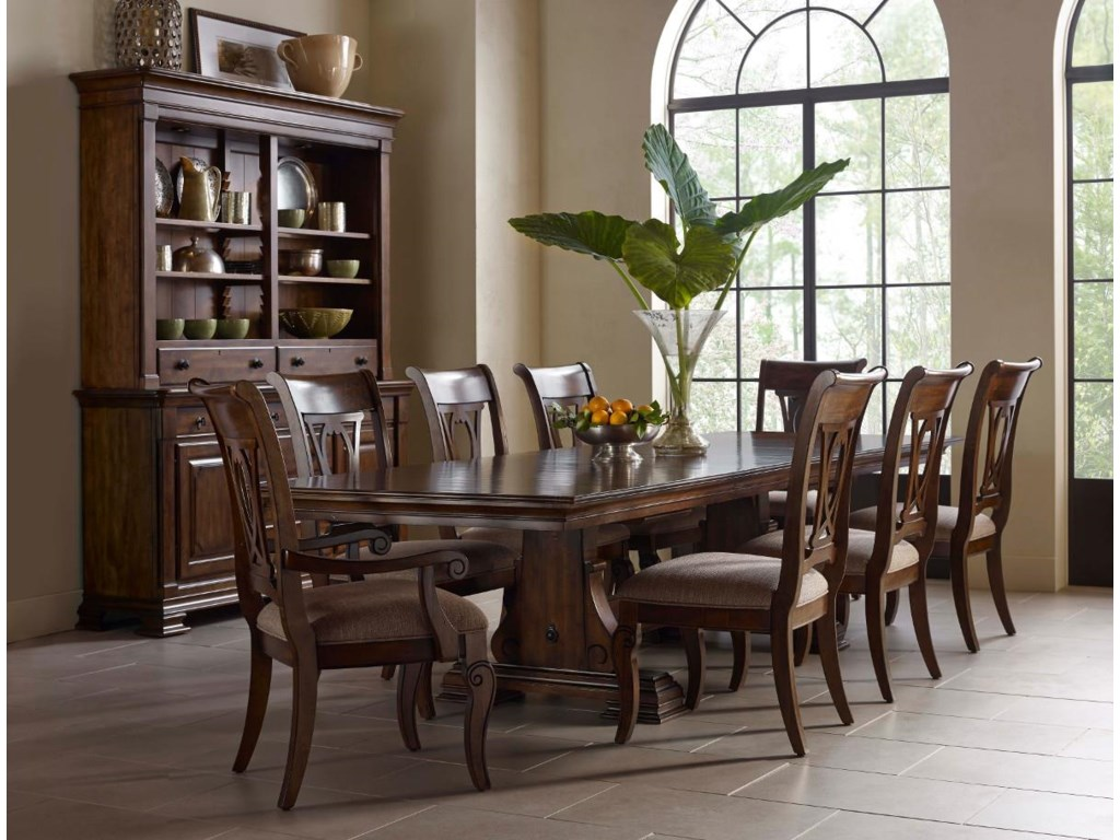 Kincaid Furniture Portolone9 Pc Dining Set