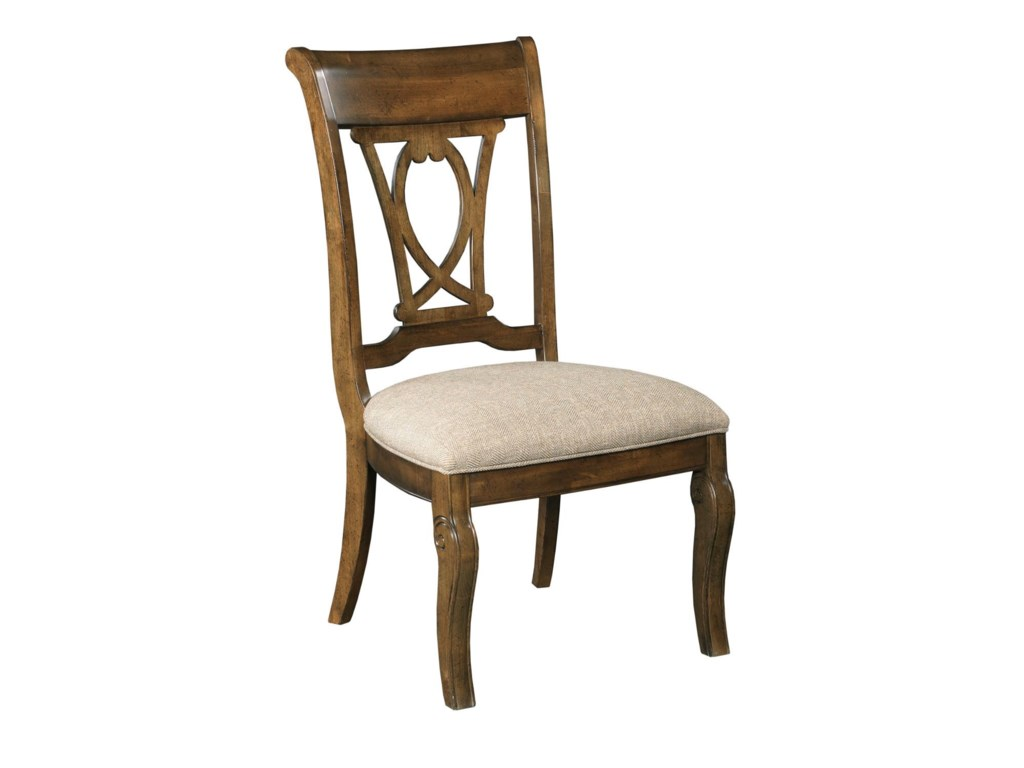 Kincaid Furniture PortoloneHarp Back Side Chair