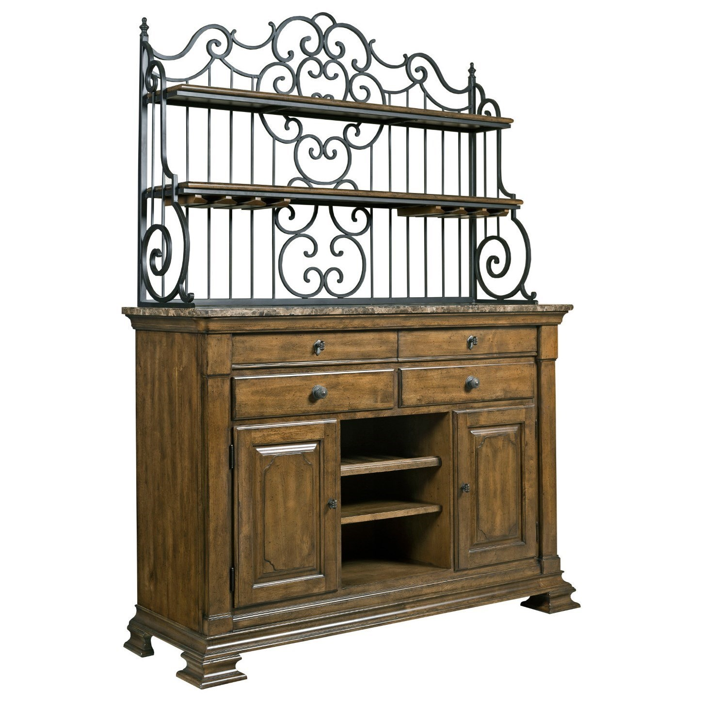 Kincaid Furniture Portolone Solid Wood Sideboard With