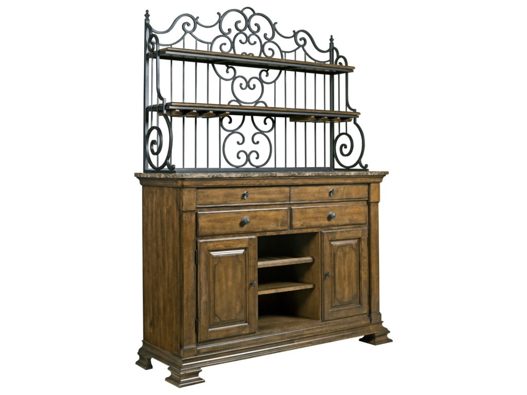 Kincaid Furniture PortoloneSideboard & Baker's Rack