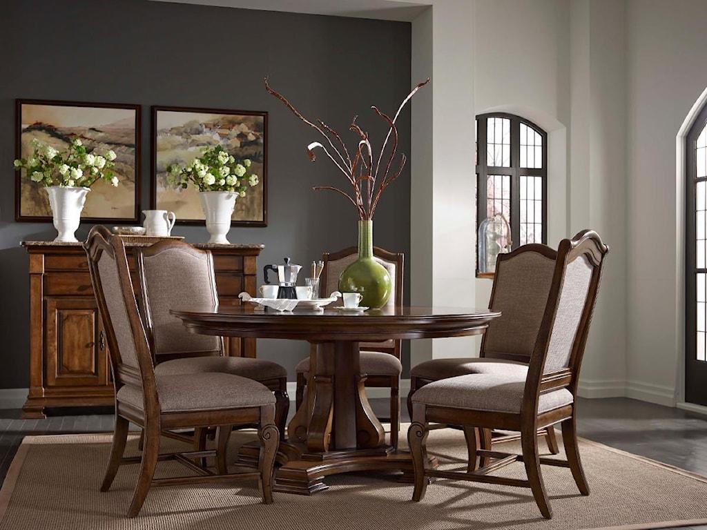 Kincaid Furniture PortolonePortolone Sideboard w/ Marble Top