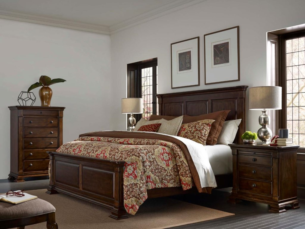 Kincaid Furniture PortoloneQueen Monteri Panel Bed