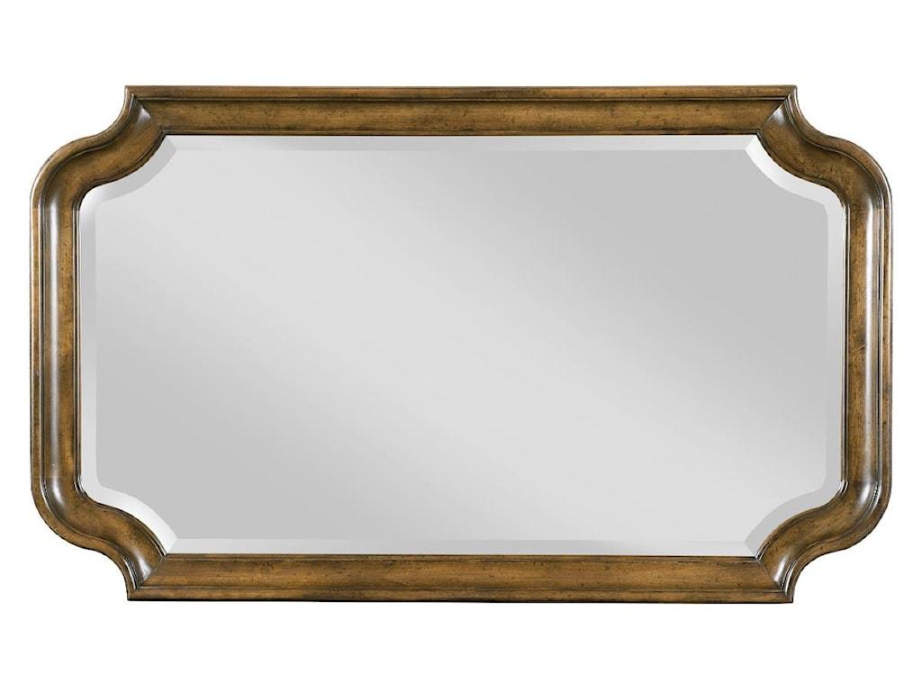 Kincaid Furniture PortolonePortolone Bureau and Mirror Set