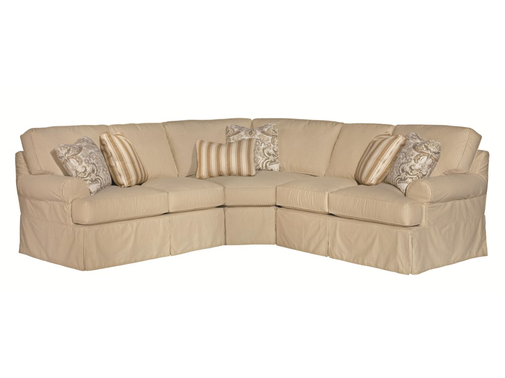 Kincaid Furniture Samantha5 Pc Sectional Sofa