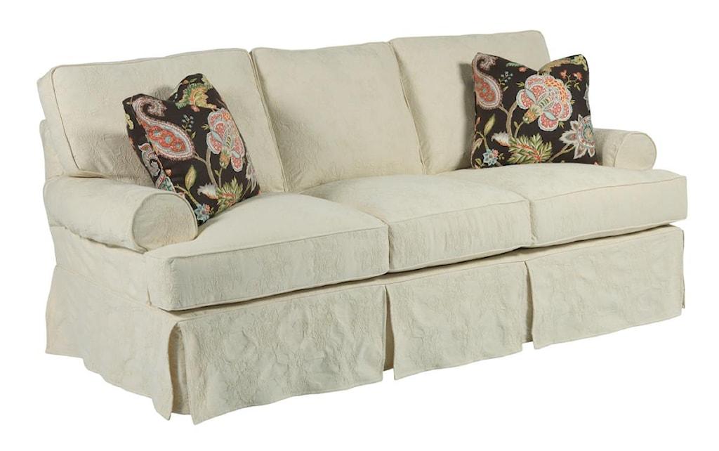 Kincaid Furniture Samantha 648 76 Samantha Three Seat Sofa With