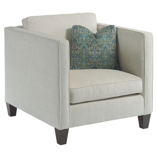Kincaid Furniture Sophia Contemporary Chair with Track Arms