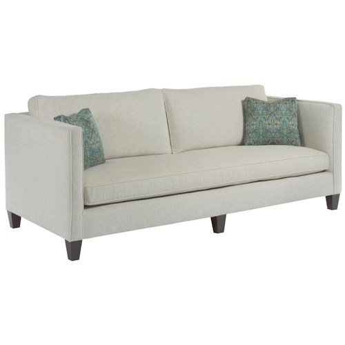 Kincaid Furniture Sophia Contemporary Sofa with Track Arms