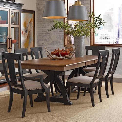 Kincaid Furniture Stone Ridge 7 Pc Dining Set | Northeast Factory ...