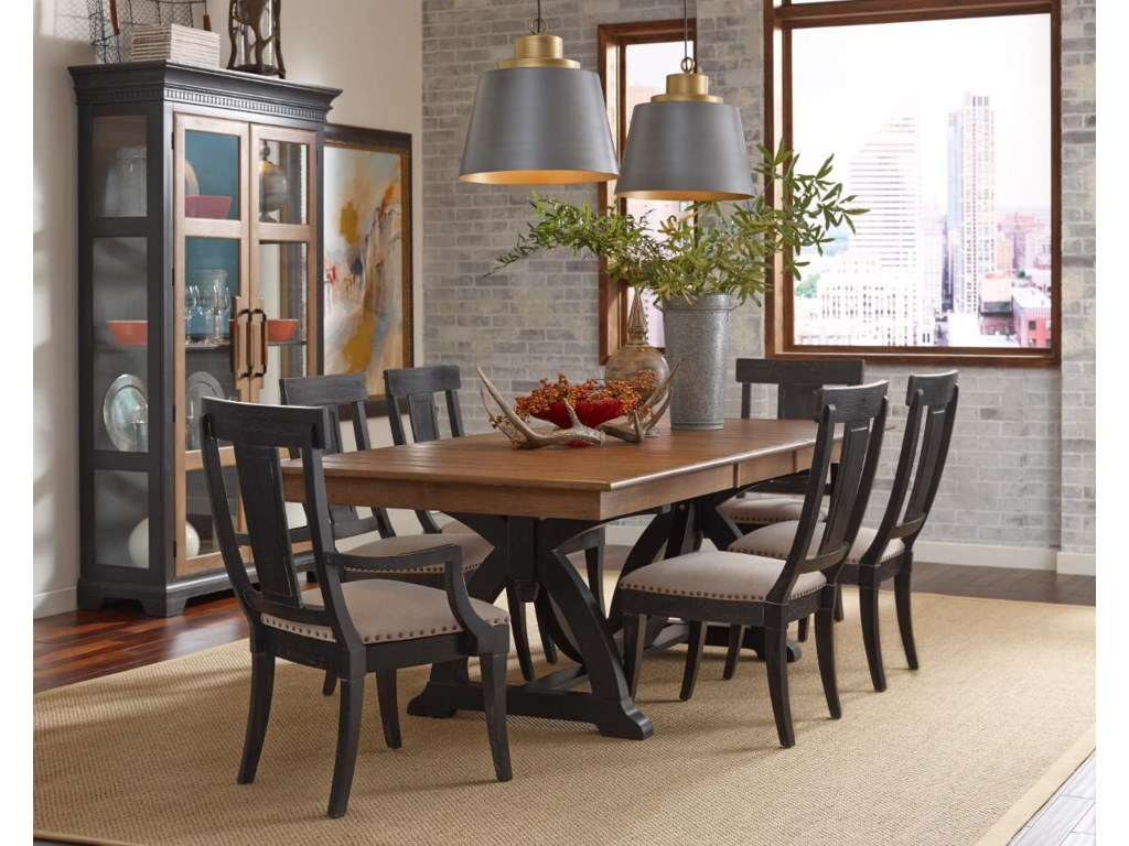 Kincaid Furniture Stone RidgeTrestle Table