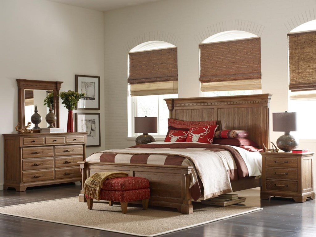 Kincaid Furniture Stone Ridge5/0 Panel Bed