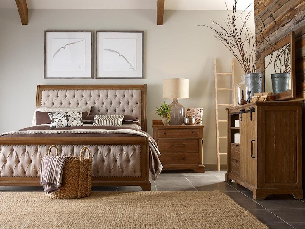 Kincaid Furniture Stone Ridge6/6 Sleigh Bed Headboard