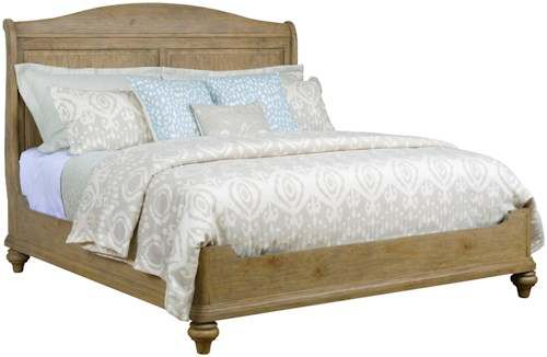 Kincaid Furniture Stone Street Serenity Sleigh Queen Bed