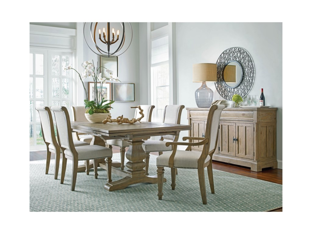 Kincaid Furniture Stone Street7 Piece Dining Table Set