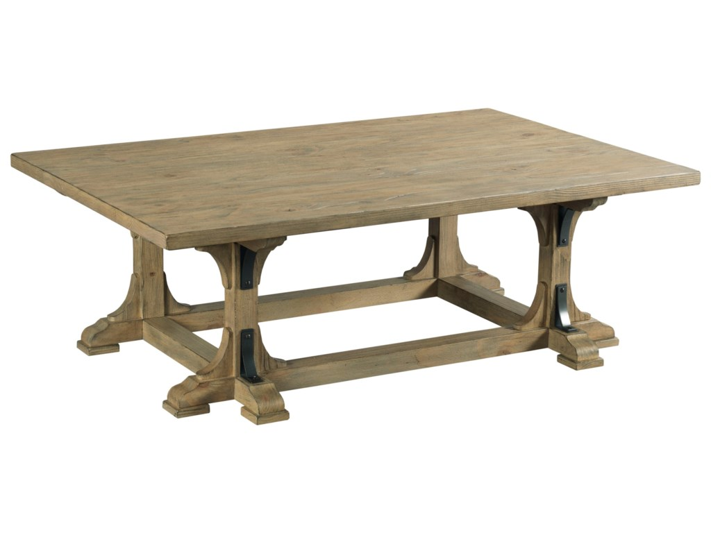 Kincaid Furniture Stone StreetGuild Coffee Table