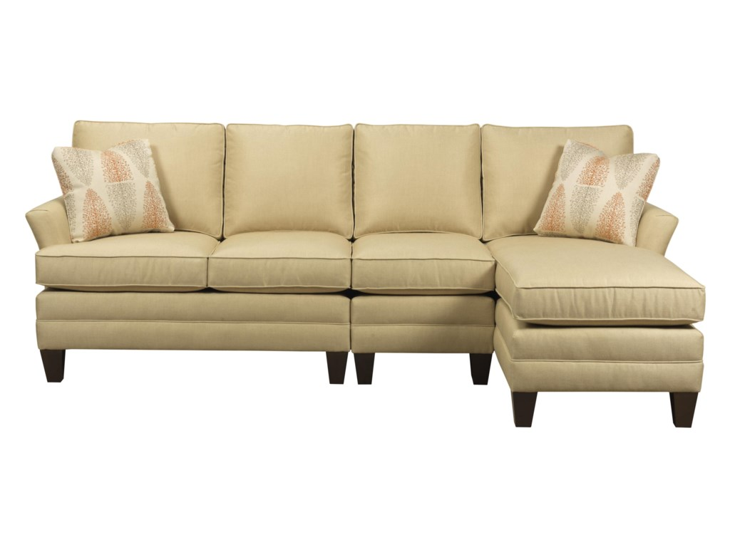 Kincaid Furniture Studio SelectCustom 3 Pc Sectional w/ LAF Chaise