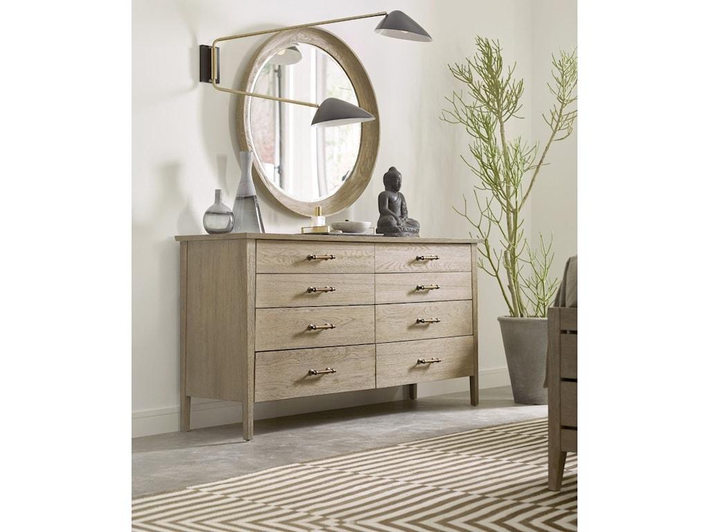 Kincaid Furniture SymmetryDresser and Mirror Set