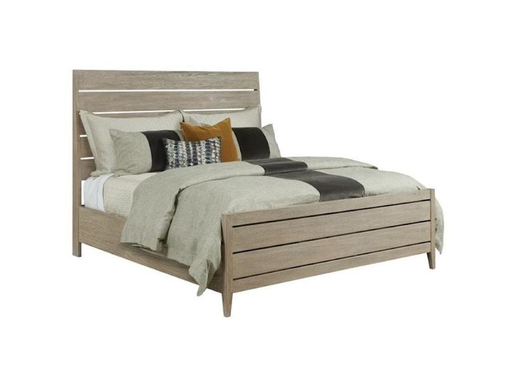 Kincaid Furniture SymmetryIncline Oak California King PlatformBed