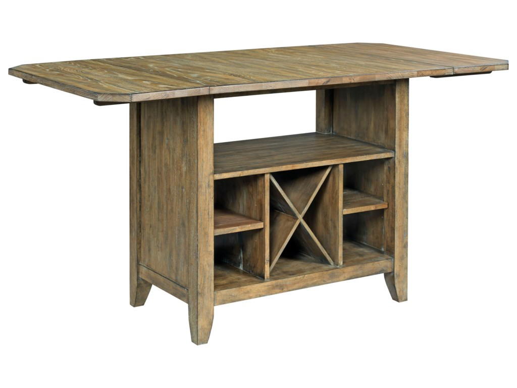 Kincaid Furniture The Nook 663-746P Solid Wood Kitchen ...