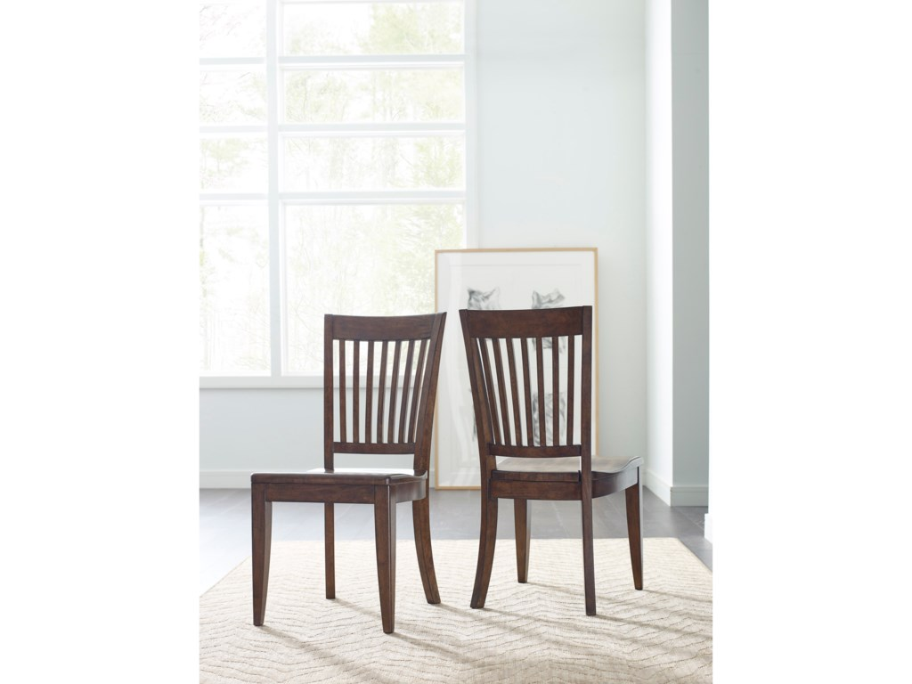Kincaid Furniture The NookSlat Back Chair w/ Wood Seat