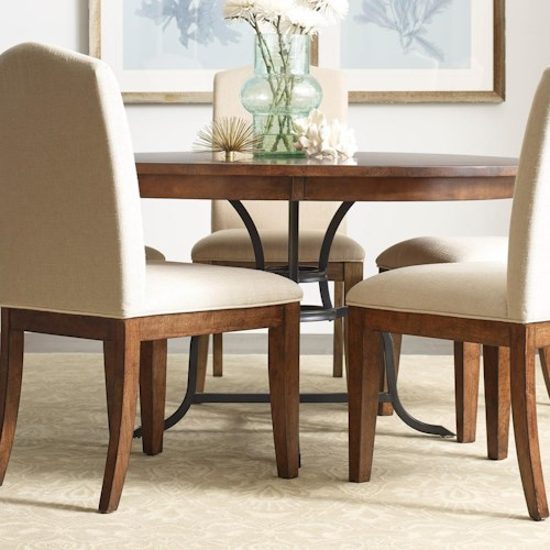 Kincaid Furniture The Nook 54 Round Solid Wood Dining Table with
