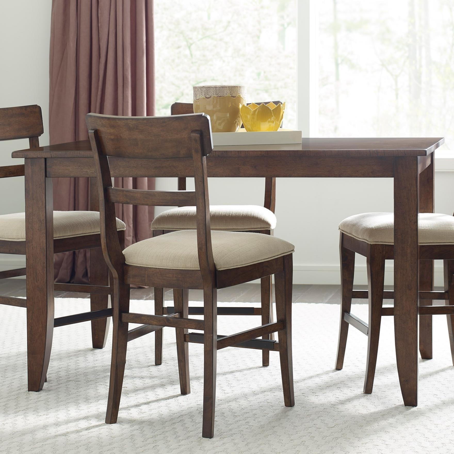 Kincaid Furniture The NookCounter Height Leg Table ...