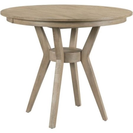 "44"" Round Counter Ht Dining Table w/ Modern"